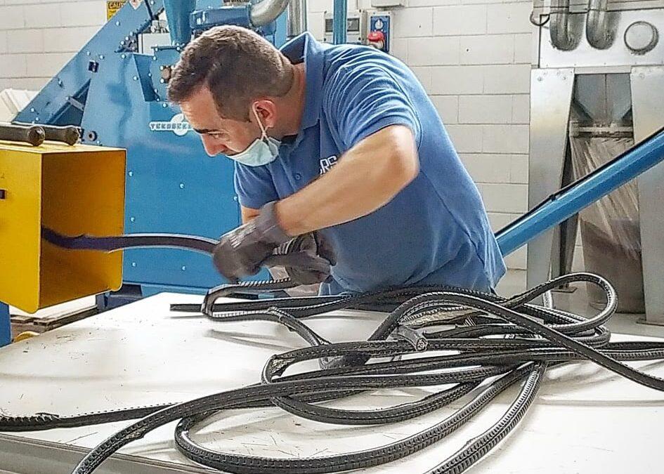 Discarica rame usato e fili elettrici Milano